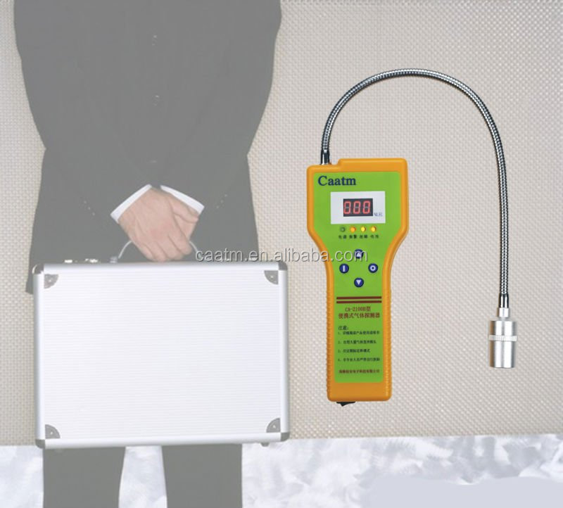 Low Cost Portable Combustible Gas Leak Meter Methane/Propane Leakage Detector
