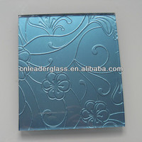 colored textured decorative glass