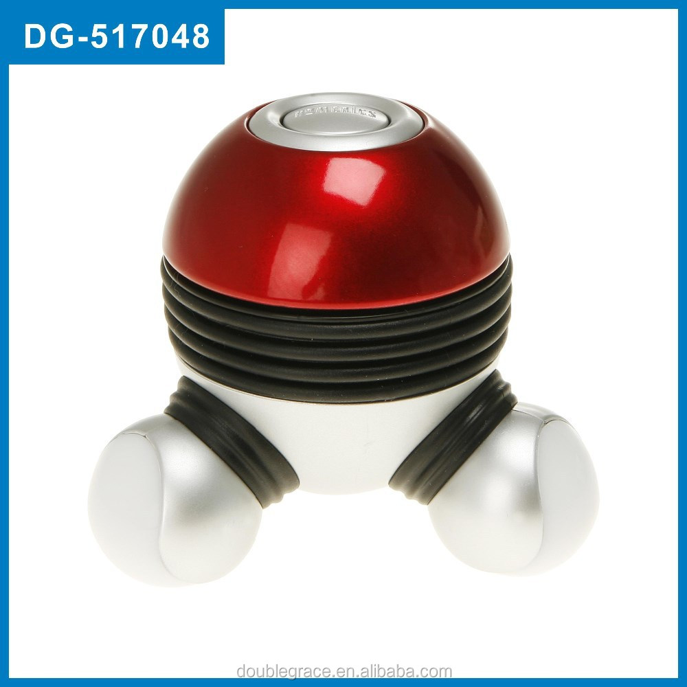 Atom massager with 7 color LED mini massager