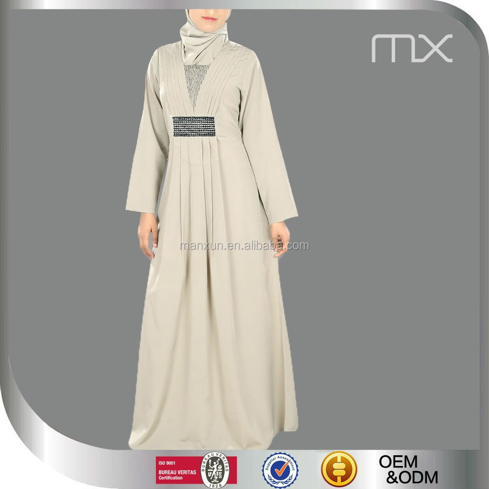 Gewoon lange jurk met lange mouwen moslim kleding for Islamitische sportkleding vrouwen