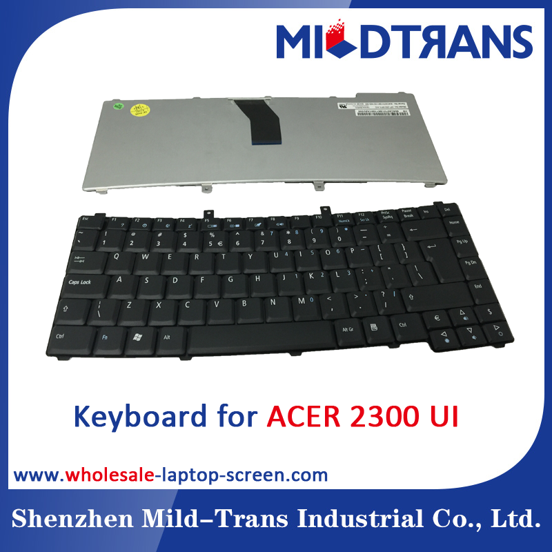 Wholesale A Grade laptop keyboard for ACER 2300 in UI layout