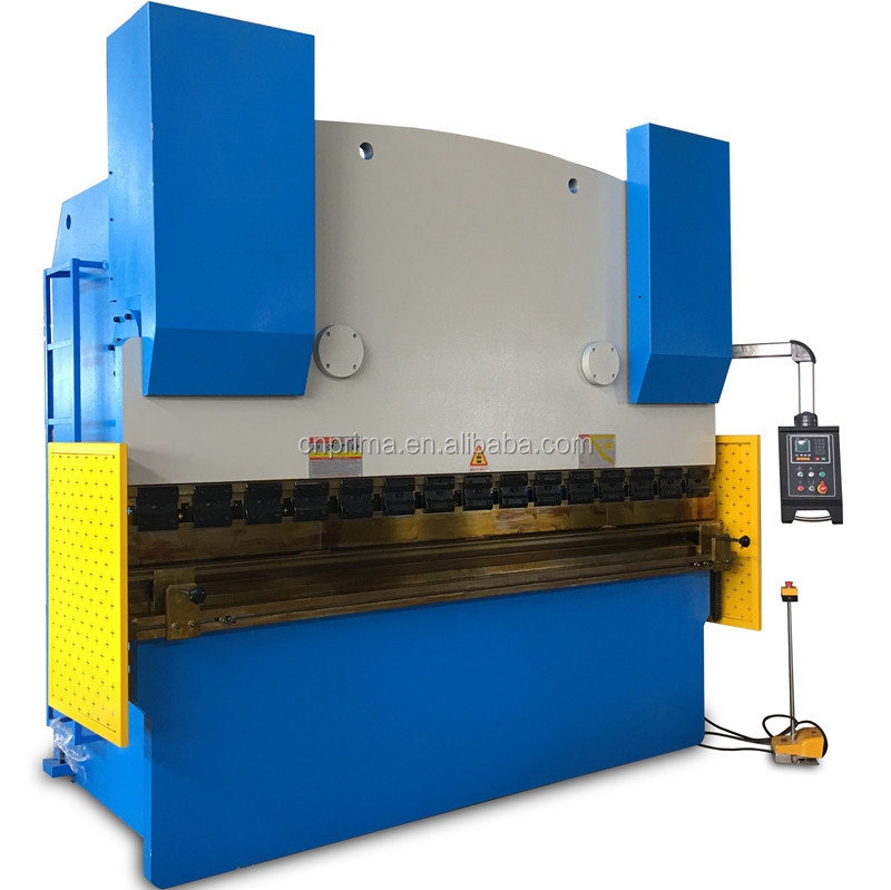 Prima Factory CE approved cnc press brake/hydraulic steel plate bending machine/metal sheet bender for hot sale