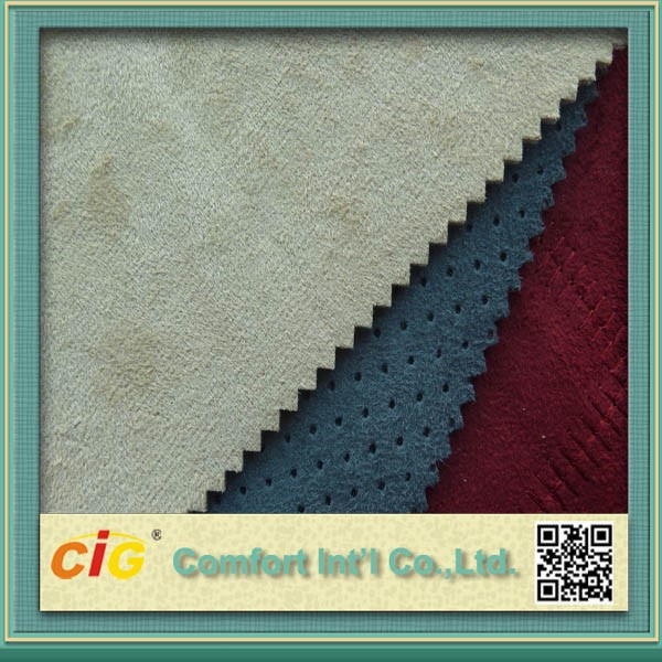 China High Quality Suede Fabric Car Seat Covers