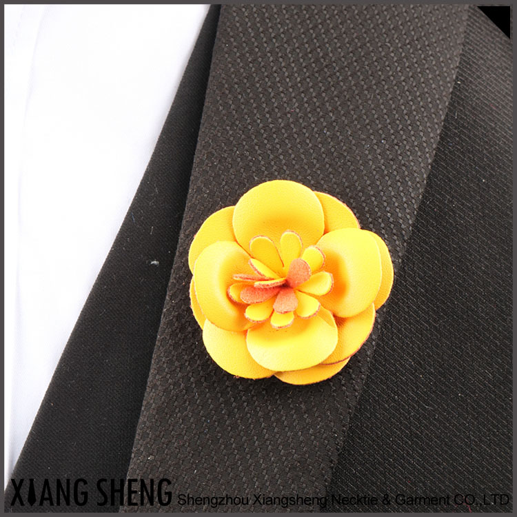 Custom Yellow Rose Lapel Pin