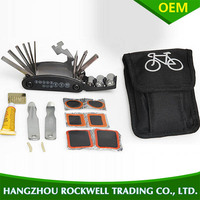 16 in 1 bike tool bicycle repair tool kit with bag