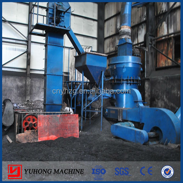 Henan Yuhong Coal Pulverizer 4r3216 Also Named Coal Raymond Grinding Mill Mine Equipment