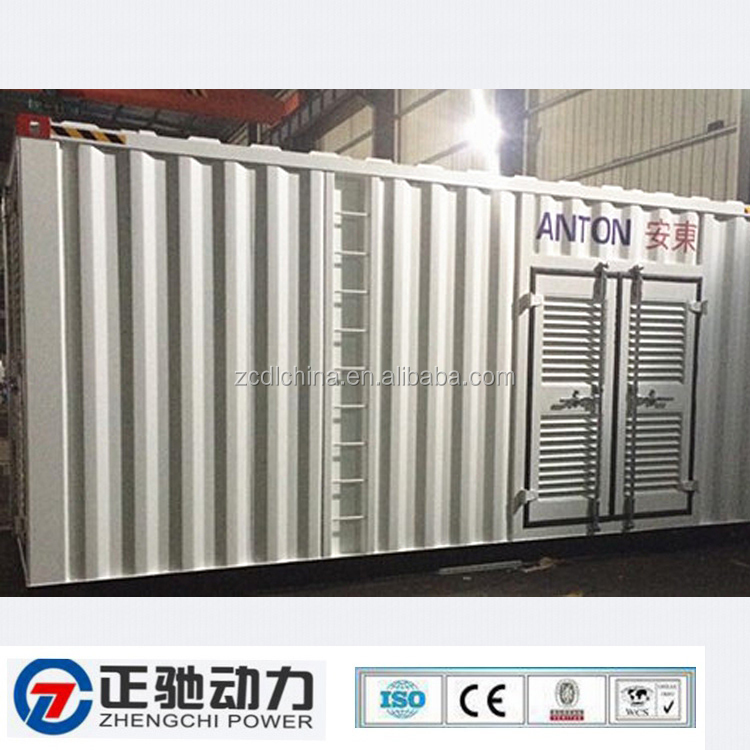 Diesel generator sets shipping container homes