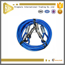 Best quality wholesale PVC coated rope dog leash 40ft