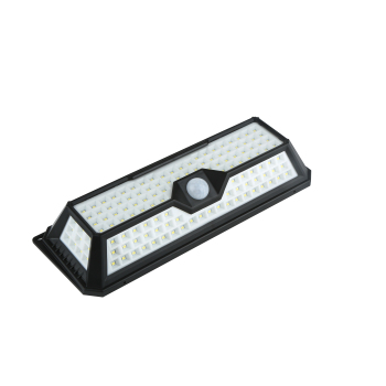 Brightness 136 LED IP65  switch battery 3.7V led garden solar sensor wall light