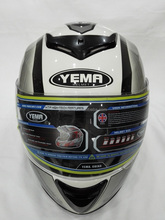 ABS fresh material helmet ECE / DOT approved motorcycle full face helmet (YM-822)