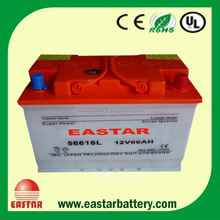 car battery 12v 65ah power volt car batteries