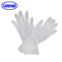 LN-8009 Milky White Medical Glove Consumbles Gloves 310mm Length