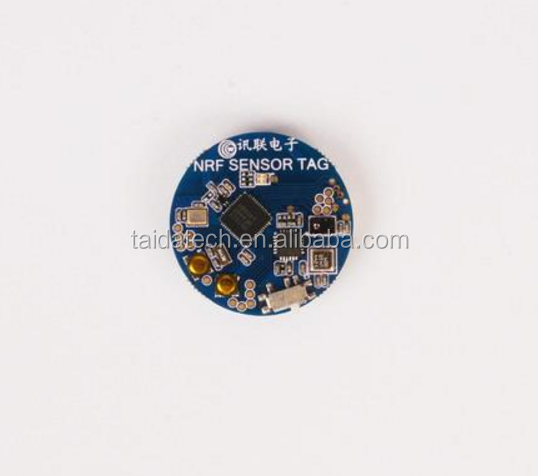 NRF51822 SENSOR TAG Bluetooth 4.0BLE wireless sensor iBEACON motion detection sensor chip AP3216