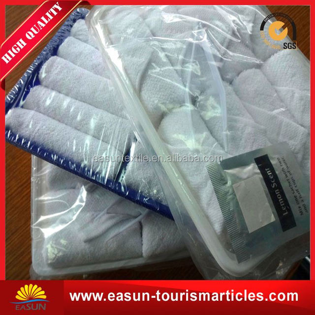 disposable cold cotton face airline towel professional supplier