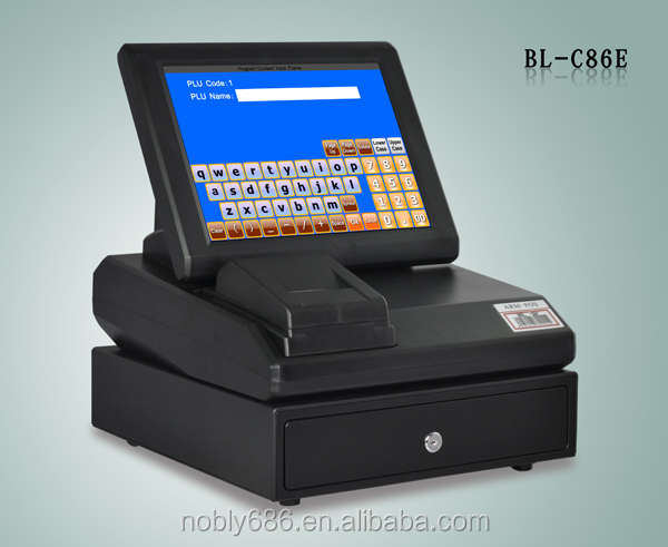Hot sale! Touch screen restaurant payment terminal equipment with pos software