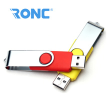 Swivel USB2.0 Flash Drive, Promotional Custom USB Flash Drive 8GB