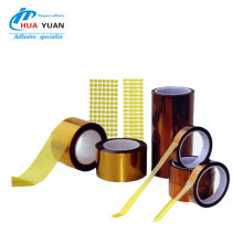 Free sample die cut polyimide printing film pet shrink plastic film,amber gold finger