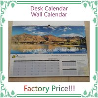 [Direct Factory+professional] calendar printing wall calendar [cheap price+high quality]