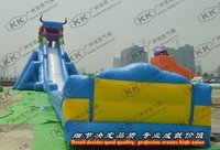 inflatable hippo water slide, giant inflatable dragon water slide with good price