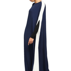 ade2e9205c Newest Design Eid Ramadan Fashionable Soft Jersey Navy Hot Sexy Muslim Dress  Dresses For Women Sari
