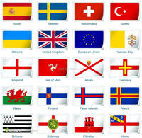 3*5 Feet Wholesale Factory Direct Produce All Countries Flags