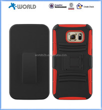 New full protect belt clip rugged mobile phone case for samsung galaxy s7