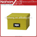 NAHAM 2015 high quality KD cardboard box, office organizer box, decorated christmas box