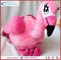fly plush animals stuffed flamingo stuffed animal
