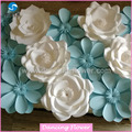 2017 hot boutique paper flower backdrop flower wedding decorations