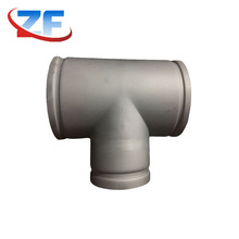 straight equal tapered pipe fittings chart pipeline barred tee with groove end