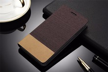 A880 Case Business Ultra thin Jeans Canvas + PU Leather Flip Cover For Lenovo A880 Shell With Card Holder