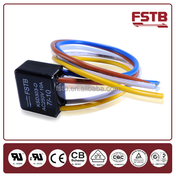 FSTB Wholesale ksd303 Big Current Defrost Thermostat / Water Proof Temperature Controller