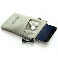 Eco-friendly Washable Microfiber Cell Phone Pouch