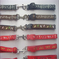 pet wholesale leather dog collars christmas dog collars
