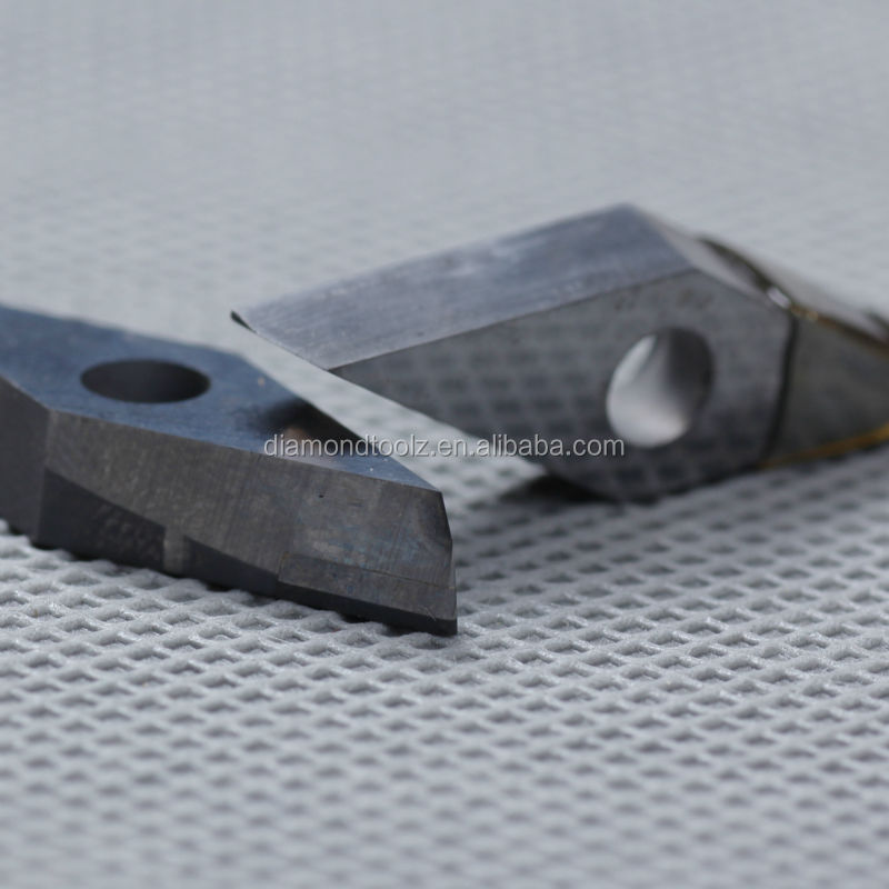 Cnc cvd brazed inserts tire reamer tool