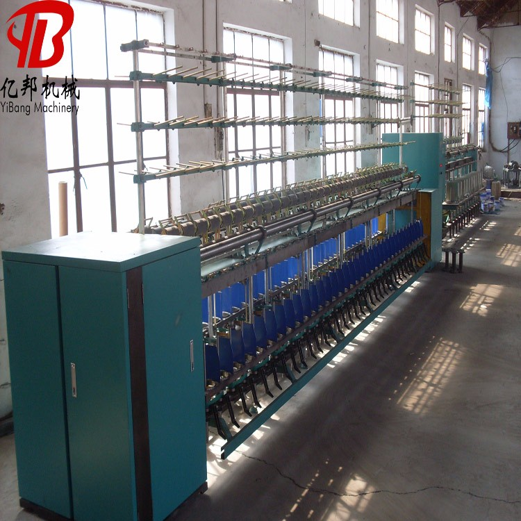 High capacity filament twisting machine with high quality