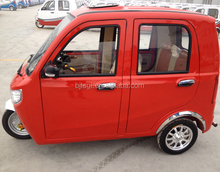 E power beautiful cabin tricycle taxi/tricar for passenger use