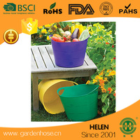 12/16/25/35/45L with many colors flexible garden storage bucket,PE laundry basket,Clothes bucket