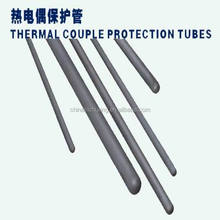 high working temperature silicon carbide thermal couple protection tube