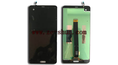 cell phone lcd screen for HTC U Ultra complete Black
