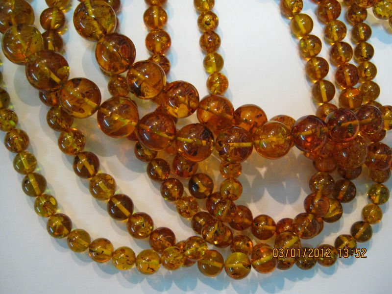 natural baltic amber beads
