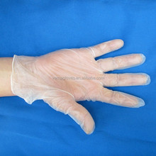PVC gloves Medical Use with CE ISO Approved/powdered/powder-free disposable clear color meidcal pvc vinyl Examination gloves