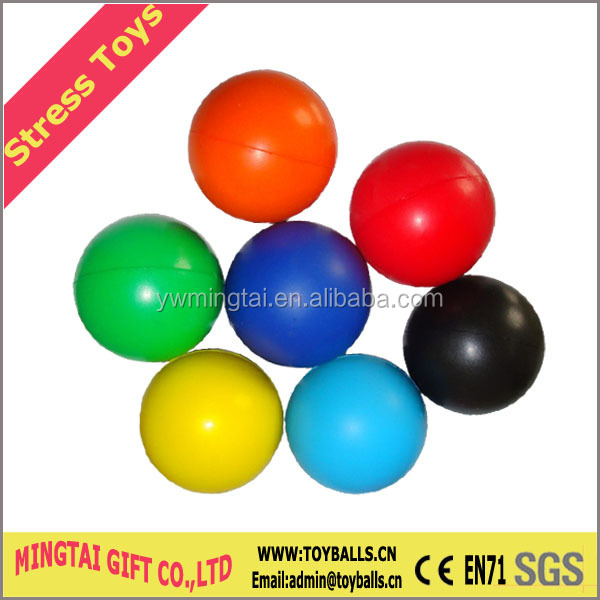 Custom Printing Round Shape Stress Ball Toys
