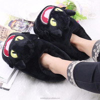 28cm How to Train Your Dragon Toothless Night Fury plush slippers