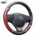 Classic PVC Car Steering Wheel Cover wood