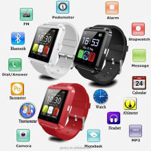 2017 New Hot Sale Cheap U8 U9 GT08 DZ09 A6 Bluetooth Smart Watch For Phone With Multifunction