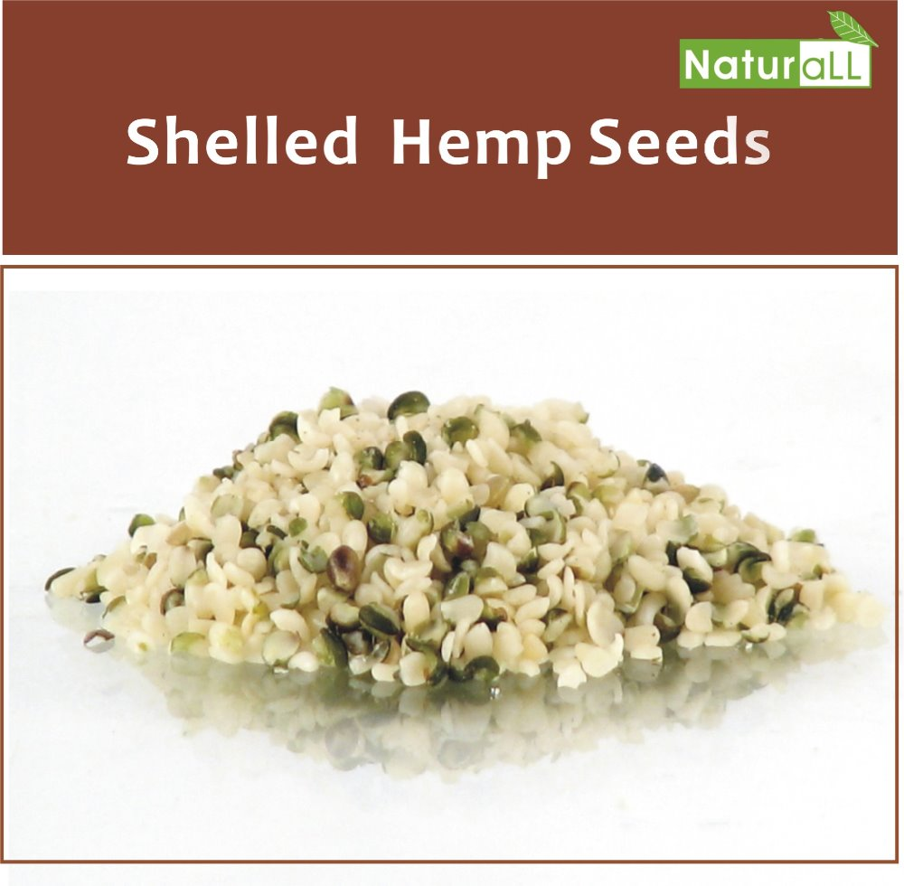 2016 Crop, Organic Chinese Hulled Hemp Seed