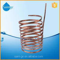 high cooling capacity copper coil for water cooler tank