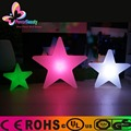 Outdoor color changing waterproof plastic led star light for christmas