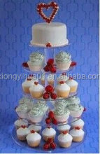 2015 Clear Acrylic Pop Cake Display stands
